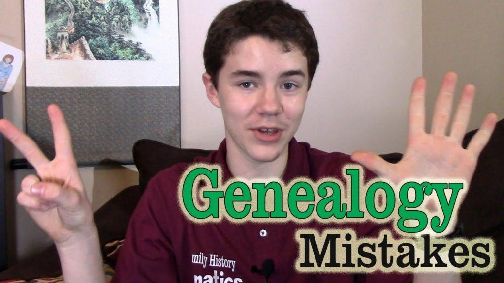 7 Common Genealogy Mistakes