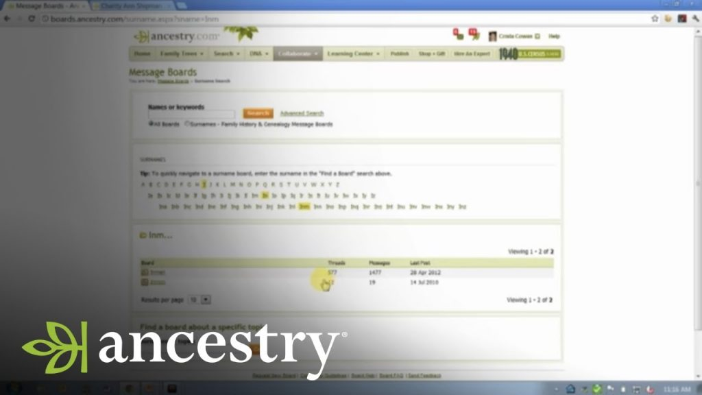How To Use Message Boards to Break Through Genealogy Brick